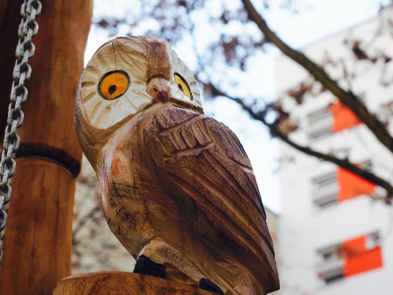 Kleiner Nachbar aus Holz
