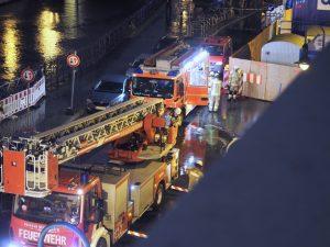 Großeinsatz der Berliner Feuerwehr am Spittelmarkt, Foto: JANDKE