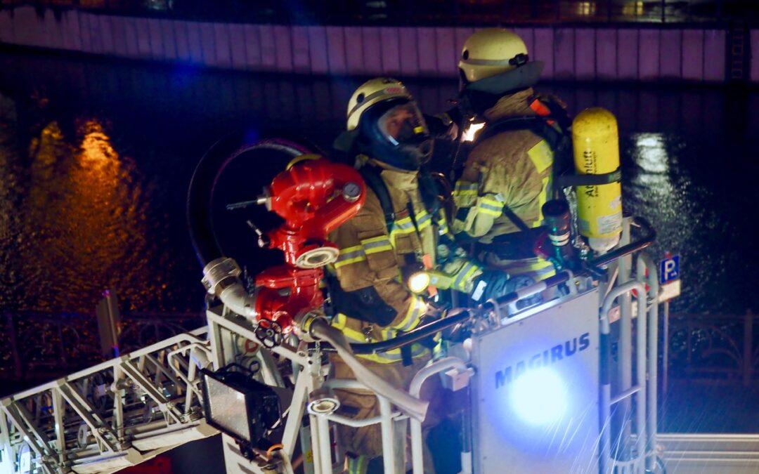 Plötzlich Feuerwehr vorm Haus – Großeinsatz